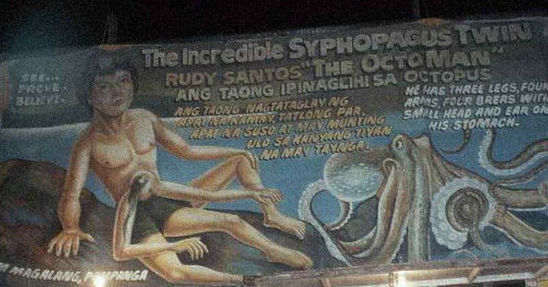 PHILIPPINEN MAGAZIN - BLOG - Octoman - Filipino mit vier Armen und drei Beinen