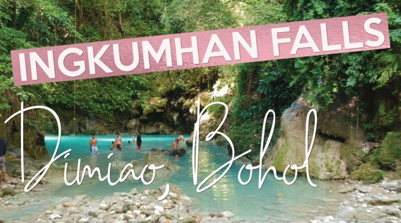 PHILIPPINEN MAGAZIN - VIDEOSAMMLUNG - Am Ingkumhan Wasserfall in Dimiao