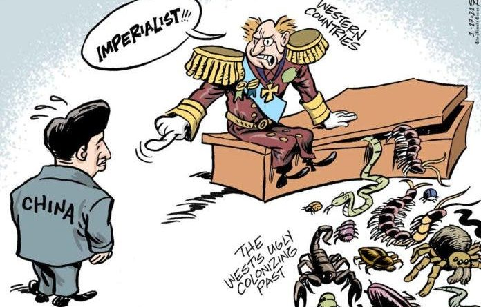 Die Karikikatur im Philippinen Magazin