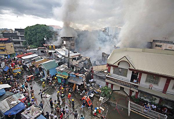 PHILIPPINEN MAGAZIN - NACHRICHTEN - 150 Familien obdachlos nach Feuer in Alabang