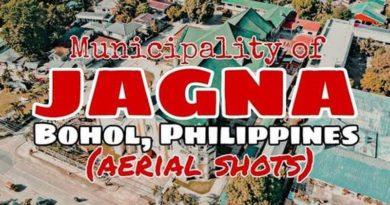 PHILIPPINEN MAGAZIN - Jagna Luftaufnahmen