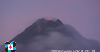 PHILIPPINEN MAGAZIN - NACHRICHTEN - Mayon Vulkan Alert