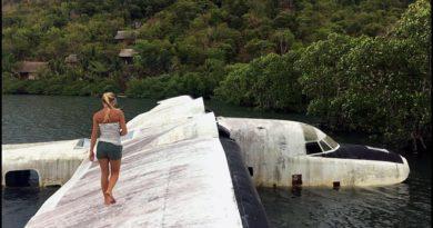 PHILIPPINEN MAGAZIN - Verlassenes Flugzeugwrack zwischen den Inseln