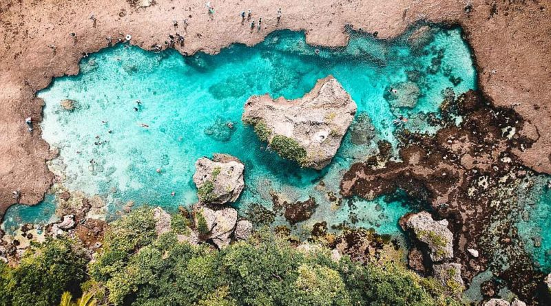PHILIPPINEN MAGAZIN - MEIN SAMSTAGSTHEMA - TOP TOURISTENZIELE IN MINDANAO - Die Magpupunko Rock Pools