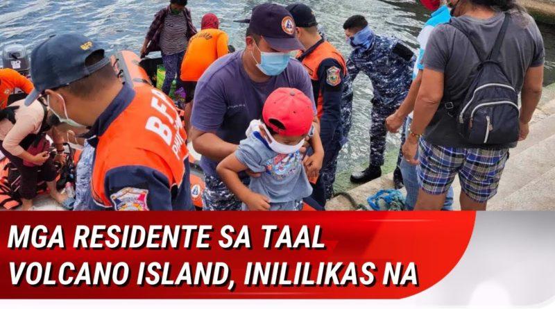 PHILIPPINEN MAGAZIN - NACHRICHTEN - Erzwungene Evakuierungen am Taal Vulkan im Gange