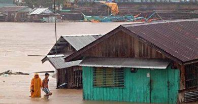 PHILIPPINEN MAGAZIN - NACHRICHTEN - Toter und Vermisste durch Tropensturm Auring