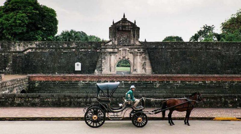 PHILIPPINEN REISEN - KULTUR- GESCHICHTE - HISTORISCHE ORTE UND PLÄTZE - Fort Santiago