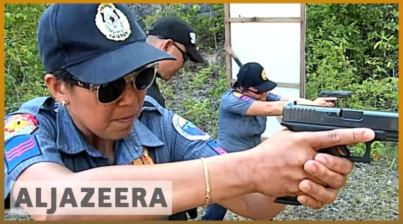 PHILIPPINEN MAGAZIN - VIDEOSAMMLUNG - Philippinischer Ort Maria auf Siquijor ersetzt alle männlichen Polizisten durch Frauen