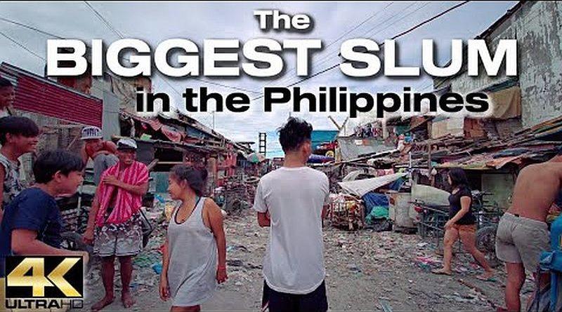 Spaziergang durch den größten SLUM der PHILIPPINEN