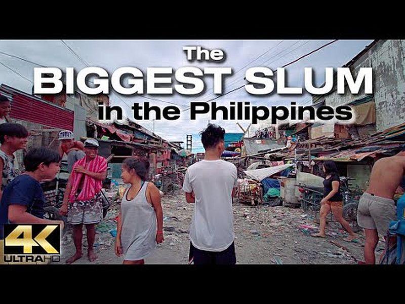 PHILIPPINEN MAGAZIN - VIDEOSAMMLUNG - Spaziergang durch den größten SLUM der PHILIPPINEN