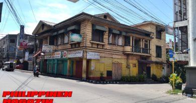 PHILIPPINEN MAGAZIN - FOTO DES TAGES - Altes Haus auf der Capistrano Street Foto von Sir Dieter Sokoll für PHILIPPINEN MAGAZIN