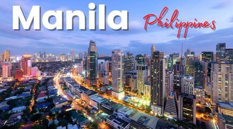 PHILIPPINEN MAGAZIN - VIDEOSAMMLUNG - Manila City Tour mit der Drohne