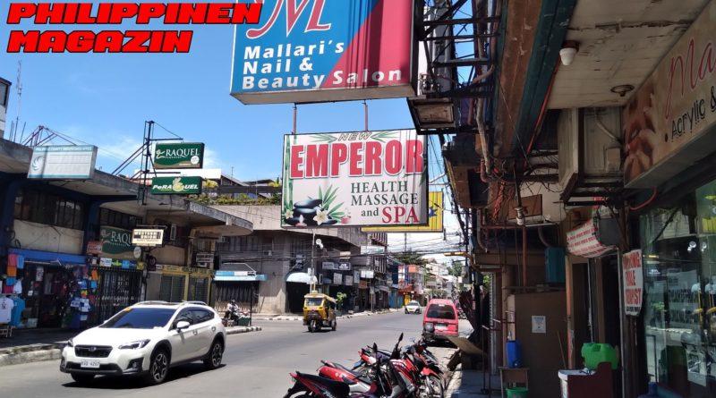 PHILIPPINEN MAGAZIN - FOTO DES TAGES - Typische philippinsiche Straße in einer Stadt Foto von Sir Dieter Sokoll für PHILIPPINEN MAGAZIN