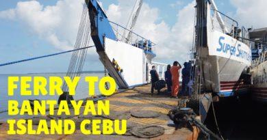 PHILIPPINEN MAGAZIN - VIDEOSAMMLUNG - Mit der RoRo-Fähre von Hagnaya nach Bantayan
