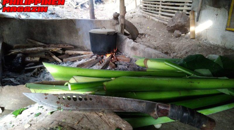 PHILIPPINEN MAGAZIN - FOTO DES TAGES - Vorbereitung von Schweinefutter Foto von Sir Dieter Sokoll für PHILIPPINEN MAGAZIN