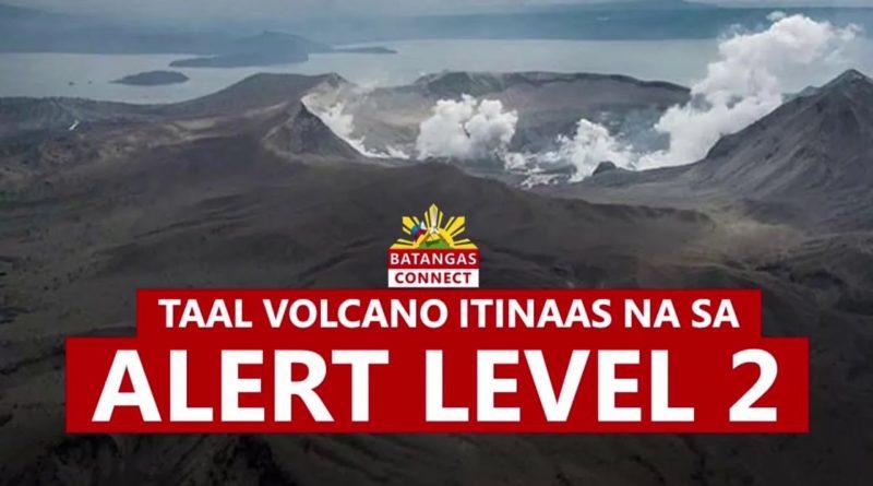 PHILIPPINEN MAGAZIN - NACHRICHTEN - Taal-Vulkan auf Alarmstufe 2
