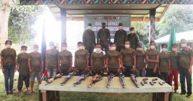 PHILIPPINEN MAGAZIN - NACHRICHTEN - 14 Abu Sayyaf Kämpfer ergeben sich