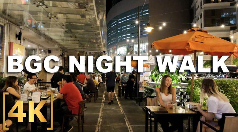 PHILIPPINEN MAGAZIN - VIDEOSAMMLUNG - BGC ist fast wieder normal – Nachtspaziergang