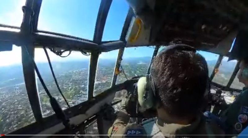 PHILIPPINEN MAGAZIN - VIDEOSAMMLUNG - C-130 landet auf Lumbia – Cagayan de Oro