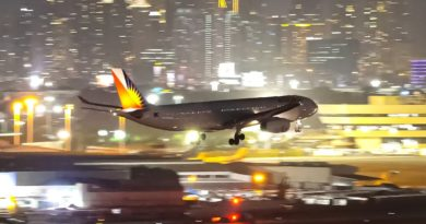 PHILIPPINEN MAGAZIN - VIDEOSAMMLUNG - 10 wunderschöne Nachtlandungen am MNL Flughafen