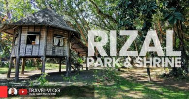 PHILIPPINEN MAGAZIN - VIDEOSAMMLUNG - Dr Jose Rizal Park & Gedenkstätte | Dapitan 2020
