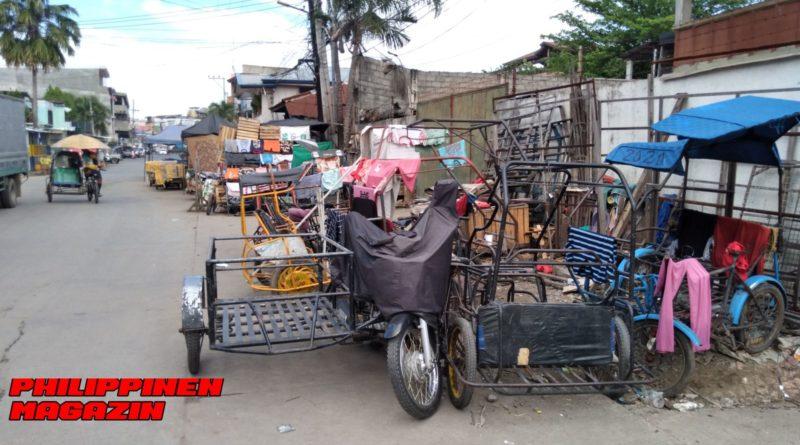 PHILIPPINEN MAGAZIN - FOTO DES TAGES - Unterwegs im Wohngebiet der niedrigen Einkommensklasse