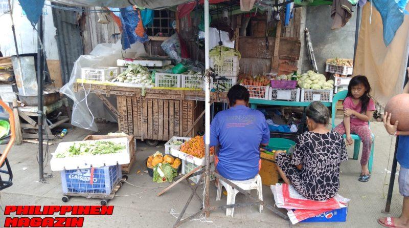 PHILIPPINEN MAGAZIN - FOTO DES TAGES - Gemüsestand am Wohngebiet Foto von Sir Dieter Sokoll für PHILIPPINEN MAGAZIN