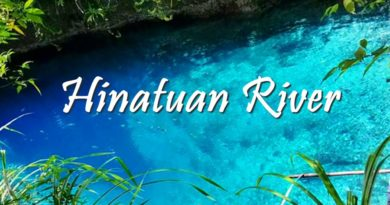 PHILIPPINEN MAGAZIN - MEIN SAMSTAGSTHEMA - REISEZIELE IN MINDANAO - Hinatuan Enchanted River