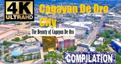PHILIPPINEN MAGAZIN - VIDEOSAMMLUNG - Cagayan de Oro von oben gesehen