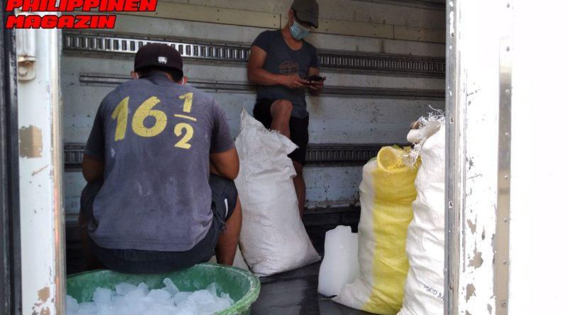PHILIPPINEN MAGAZIN - FOTO DES TAGES - EISSERVICE FÜR MARKTHÄNDLER Foto von Sir Dieter Sokoll für PHILIPPINEN MAGAZIN