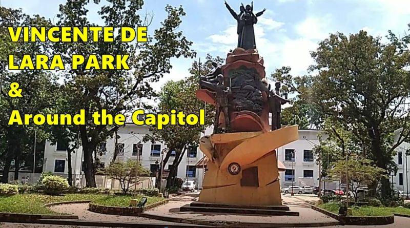 PHILIPPINEN MAGAZIN - SIGHTS OF CAGAYAN DE ORO CITY & NORTHERN MINDANAO - VINCENTE DE LARA PARK & Around Provincial Capitol Foto & Video von Sir Dieter Sokoll für Philippinen Magazin