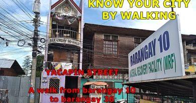 PHILIPPINEN MAGAZIN - SIGHTS OF CAGAYAN DE ORO & NORTHERN MINDANAO - KNOW YOUR CITY BY WALKING -YACAPIN STREET in Cagayan de Oro Foto + Video von Sir Dieter Sokoll für PHILIPPINEN MAGAZIN