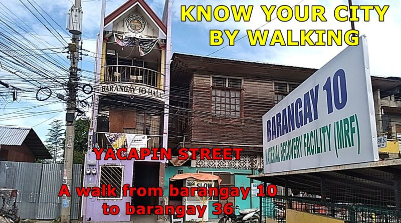 PHILIPPINEN MAGAZIN - SIGHTS OF CAGAYAN DE ORO & NORTHERN MINDANAO - KNOW YOUR CITY BY WALKING -YACAPIN STREET in Cagayan de Oro Foto + Video von Sir Dieter Sokoll für PHILIPPINEN MAGAZIN
