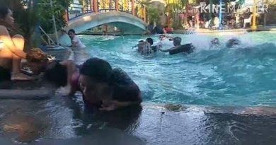 PHILIPPINEN MAGAZIN - VIDEOSAMMLUNG - Erdbeben im Schwimmbecken