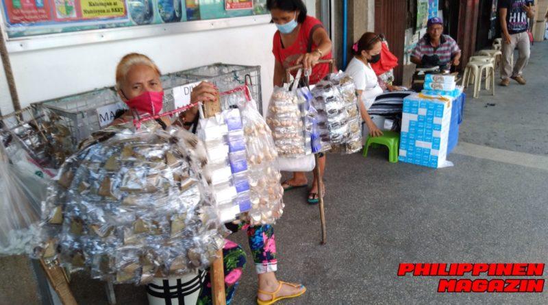 PHILIPPINEN MAGAZIN - FOTO DES TAGES - Gewürzverkäuferinnen auf der Straße Foto von Sir Dieter Sokoll für PHILIPPINEN MAGAZIN