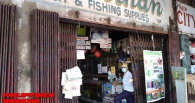 PHILIPPINEN MAGAZIN - FOTO DES TAGES - Altes Geschäft für Fischereibedarf