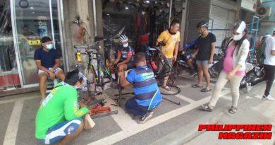 PHILIPPINEN MAGAZIN - FOTO DES TAGES - Rennrad-Mechaniker-Shop Foto von Sir Dieter Sokoll für PHILIPPINEN MAGAZIN