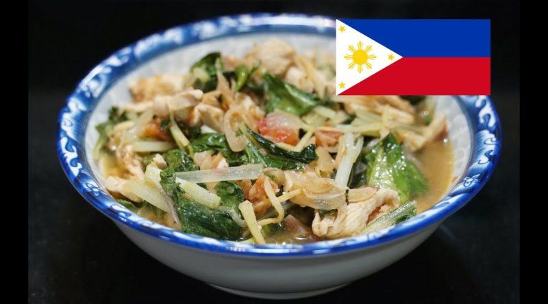 PHILIPPINEN MAGAZIN - DER PHILIPPINISCHE EXPAT KLUB - Philippinisches Rezept für Huhn mit Pechay