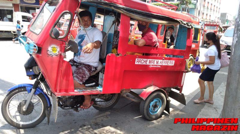 PHILIPPINEN MAGAZIN - FOTO DES TAGES - MOTORELA-TRANSPORT IN CAGAYAN DE ORO Foto von Sir Dieter Sokoll für PHILIPPINEN MAGAZIN