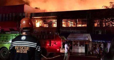 PHILIPPINEN MAGAZIN - NACHRICHTEN - Feuer zerstört Gesundheitsamt der Provinz Misamis Oriental in Cagayan de Oro