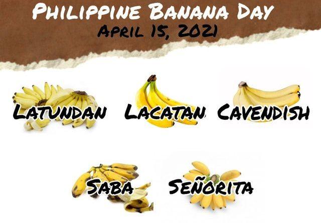 DER PHILIPPINISCHE EXPAT KLUB - GRUPPE - FLORA & FAUNA - Bananentag - Tag der Banane