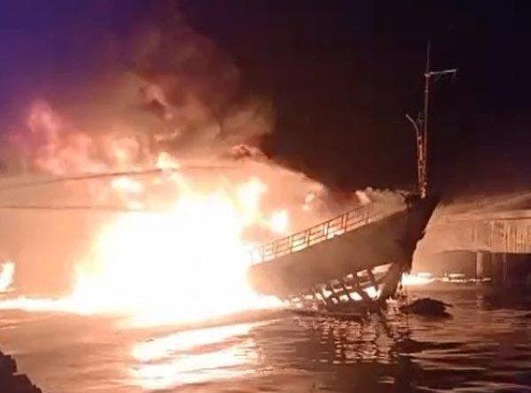 PHILIPPINEN MAGAZIN - NACHRICHTEN - Boot mit Treibstoff explodiert in Zamboanga