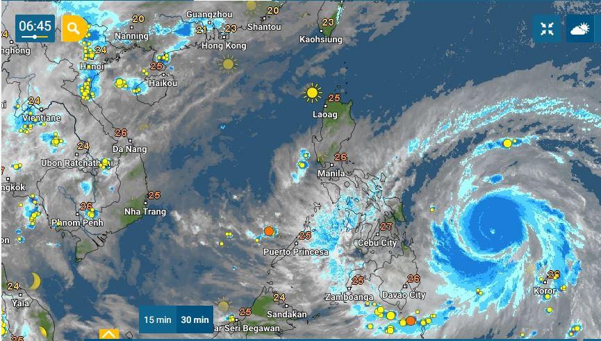PHILIPPINEN MAGAZIN - WETTER - Die Wettervorhersage für die Philippinen Samstag, den 17. April 2021