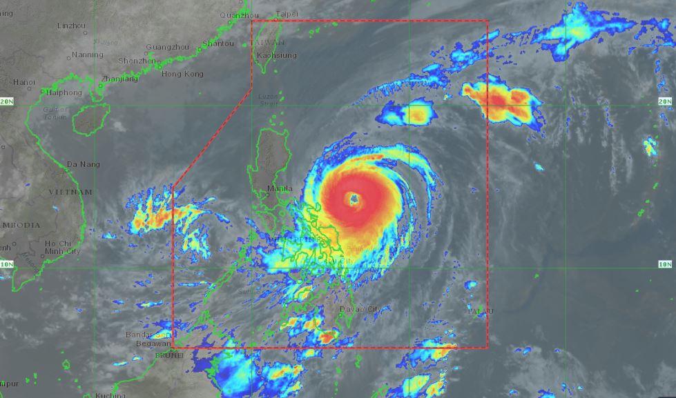 PHILIPPINEN MAGAZIN - WETTER - Die Wettervorhersage für die Philippinen Freitag, den 19. April 2021