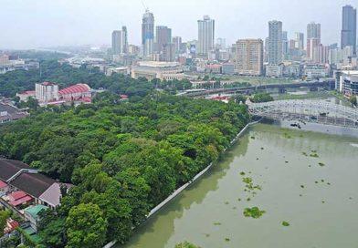 PHILIPPINEN MAGAZIN - DER PHILIPPINISCHE EXPAT KLUB GRUPPE KULTUR & GESCHICHTE - Arroceros Forest Park heute - damals eine der Pariáns