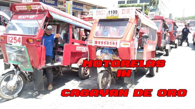 PHILIPPINEN MAGAZIN - VIDEOKANAL - Motorelas in der Stadt Cagayan de Oro