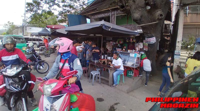 PHILIPPINEN MAGAZIN - FOTO DES TAGES - Eine gutbesuchte Carinderia am Abzweiger Foto von Sir Dieter Sokoll für PHILIPPINEN MAGAZIN