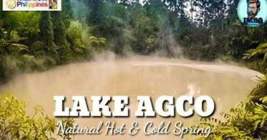 PHILIPPINEN MAGAZIN - VIDEOSAMMLUNG - Der See Agco - natürliche heiße & kalte Quelle