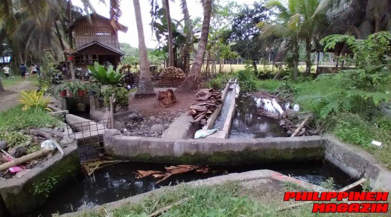PHILIPPINEN MAGAZINN - FOTO DES TAGES - Wasserverteiler-System für Reisfelder Foto von Sir Dieter Sokoll für PHILIPPINEN MAGAZIN