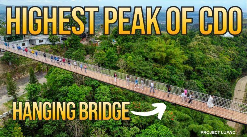 PHILIPPINEN MAGAZIN - VIDEOSAMMLUNG - Himmelsspaziergang auf der Hängebrücke in Cagayan de Oro